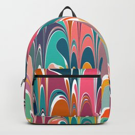 Colorful Abstract Design 12 Backpack