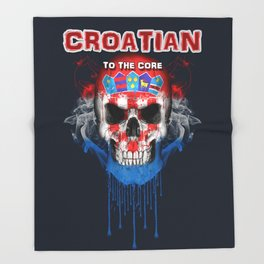 To The Core Collection: Croatia Throw Blanket