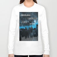 paper towns Long Sleeve T-shirts featuring Paper Towns John Green Quote by denise
