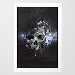 Blockhead Art Print