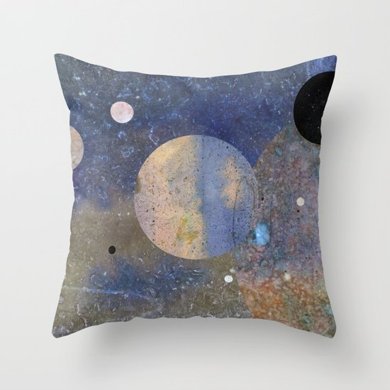 Out Of This World Throw Pillow by Peter Coleman Society6