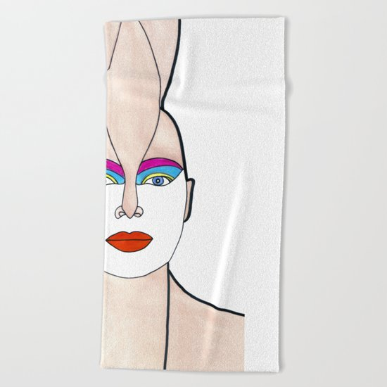 Opal (previous age) Beach Towel