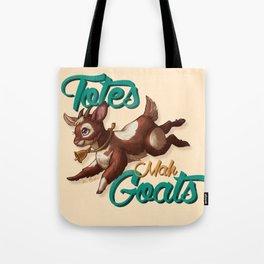 Totes Mah Goats (Light Version) Tote Bag