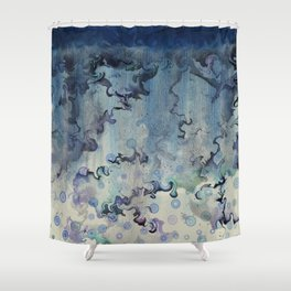 Echo of a Storm Shower Curtain