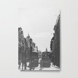 London Buses Metal Print