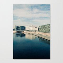 ALONG THE SPREE / Berlin, Germany Canvas Print