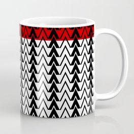 Red Line Red Peak Coffee Mug