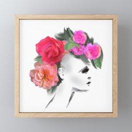 Belle Mohican Framed Mini Art Print