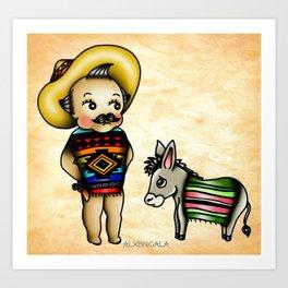 Mexican Kewpie Art Print