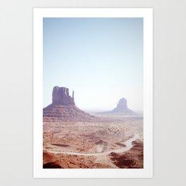 Monument Valley I Art Print