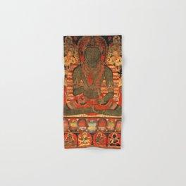Amoghasiddhi Eight Buddhas Meditation Thangka Hand & Bath Towel