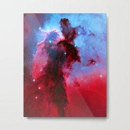 Eagle Nebula Stellar Spire Metal Print