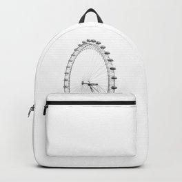Ferris Wheel (Black and White) Backpack