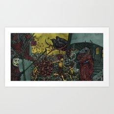 Broken Vows Art Print