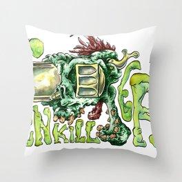 Gun Killer's Throw Pillow
