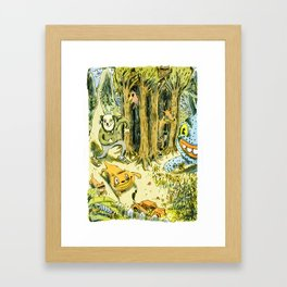 Bastian Framed Art Print