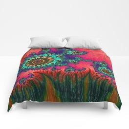 Eastern Love Fractal Art Comforters
