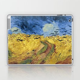 Wheatfield with Crows by Vincent van Gogh Laptop & iPad Skin