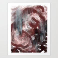 melting sex Art Print