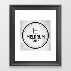 Meldrum Park Framed Art Print
