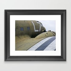 War Plane Framed Art Print