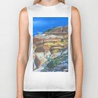 dune Biker Tanks featuring Dune by Ana Rafael