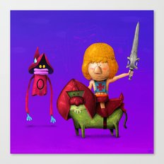 Prince of Eternia Canvas Print