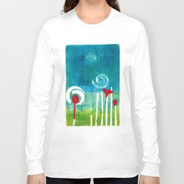 Tulips and Trilliums Long Sleeve T-shirt