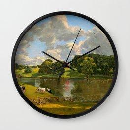 """John Constable """"Wivenhoe Park, Essex"""" Wall Clock"""