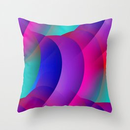 pattern and color -02- Throw Pillow