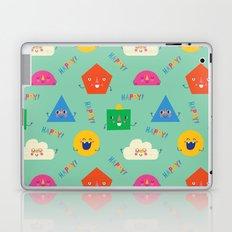 Happy! Pattern Laptop & iPad Skin