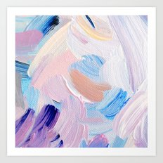 Jess Abstract Painting Art Print