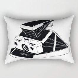 Polaroid SX-70 Land Camera Rectangular Pillow