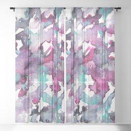 Falling In Sheer Curtain