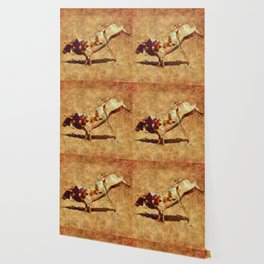 It's All Bull! - Bucking Rodeo Bull Wallpaper