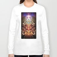 stargate Long Sleeve T-shirts featuring Powerslave 2020 by Andre Villanueva