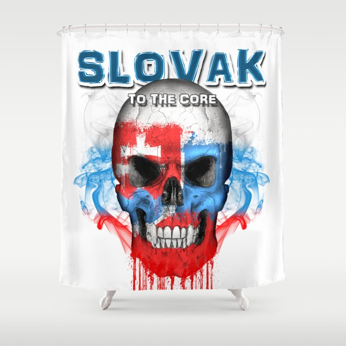 To The Core Collection: Slovakia Shower Curtain