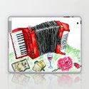 Retro red accordion by annartshock