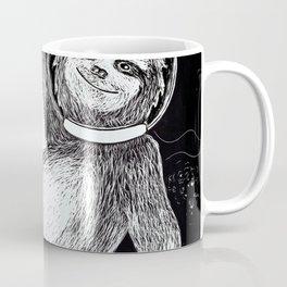 Sloth in Space Coffee Mug