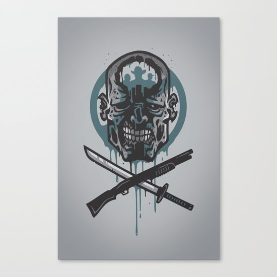 Dead Men Walking Canvas Print