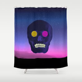 The rise and fall- Halloween horror Shower Curtain
