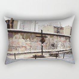 Berlin Wall Peter Fechter Memorial Rectangular Pillow