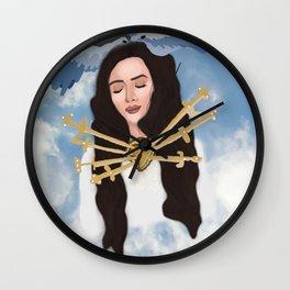 Angelic Del Rey Wall Clock