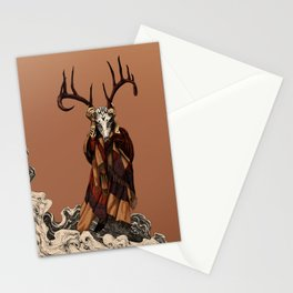 Brown Shaman Stationery Cards