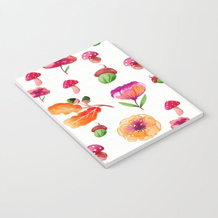 Botanical garden - watercolor Notebook