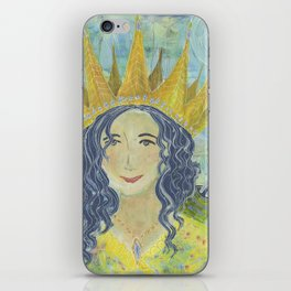 Warrior Queen Jennifer iPhone Skin
