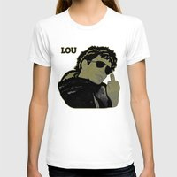 lou reed T-shirts featuring Lou Reed by Adam Metzner