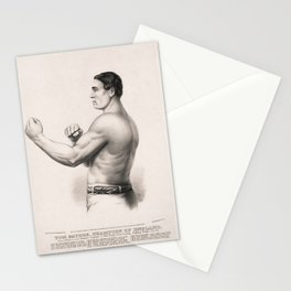 Tom Sayers - English Bare-Knuckle Champion Stationery Cards