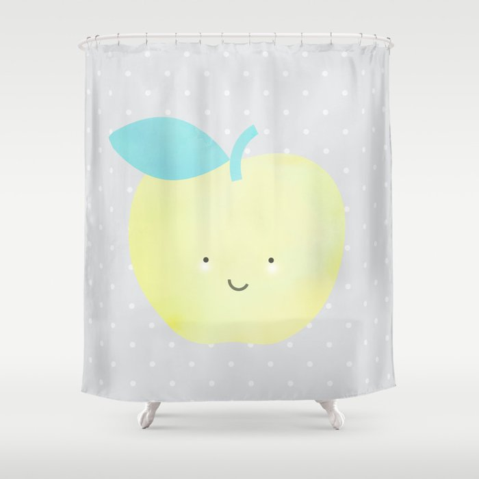 She's Apples Shower Curtain