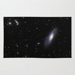 Spiral Galaxy M106 Rug